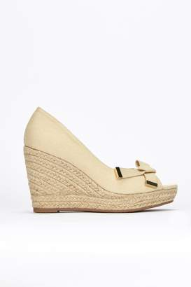 7d9f011aac32 Grey Espadrille Wedge Sandals For Women - ShopStyle UK