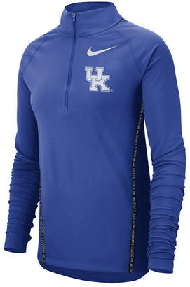 Nike Women's Kentucky Wildcats Element Half-Zip Pullover