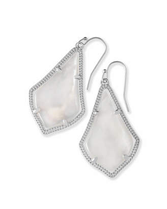 Kendra Scott Alex Drop Earrings in Silver
