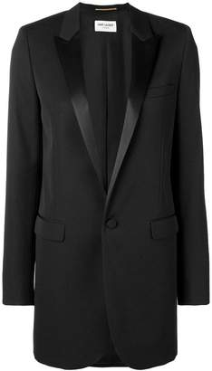 Saint Laurent oversized tuxedo jacket