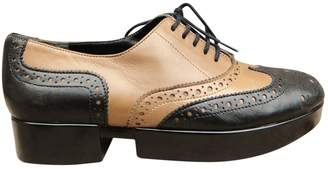 Robert Clergerie Leather lace ups