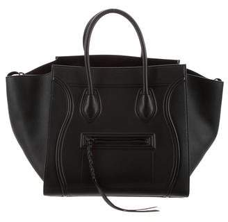 Pre Owned At Therealreal Celine 2017 Medium Luggage Phantom Tote