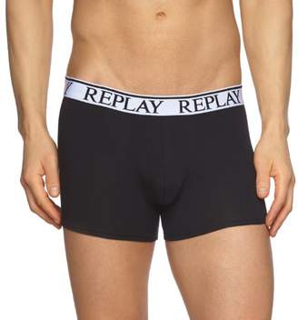 Replay Men's M605001 Pack 3 Retro NOOS Boxer Shorts Boxer Shorts, //