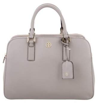 Tory Burch Robinson Triple-Zip Satchel