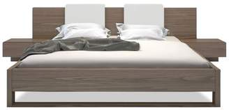 Apt2B Gault Platform Bed WALNUT
