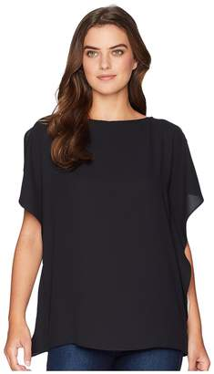 Anne Klein Ruffle Sleeve Blouse - Solid CDC Women's Blouse
