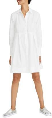 Madewell Box Pleat Shirtdress