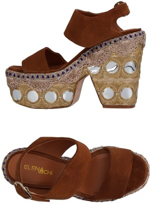 Elena Iachi Sandals - Item 11408852GR
