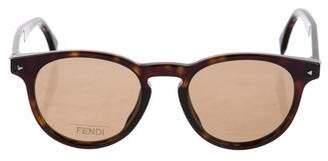 Fendi Tortoiseshell Acetate Sunglasses w/ Tags