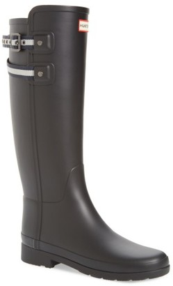 Women's Hunter Original Refined Matte Rain Boot $195 thestylecure.com