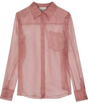 Milly Silk-Organza Shirt
