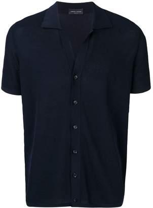 Roberto Collina short-sleeved cardigan