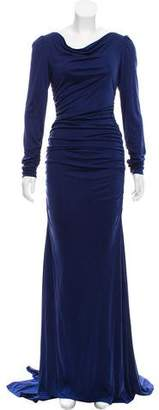 Christian Siriano Silk Evening Dress