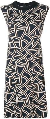 Max Mara 'S geometric print T-shirt dress