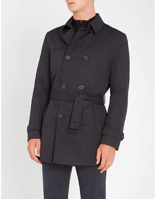 HUGO Woven cotton-blend trench coat