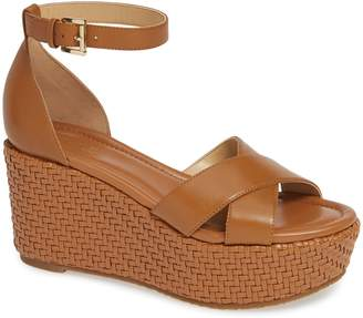 MICHAEL Michael Kors Desiree Basket Weave Wedge