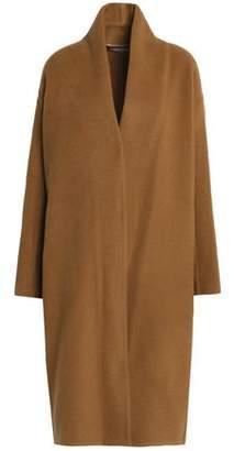 Vince Wool-Blend Felt Coat