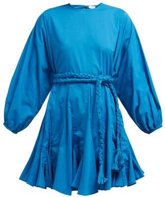 Rhode Resort Ella Cotton Dress - Womens - Blue