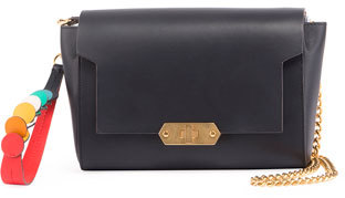 Anya Hindmarch Anya Hindmarch Bathurst Wallet On A Chain, Blue