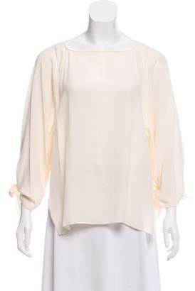 Chloé Oversize Silk Top w/ Tags