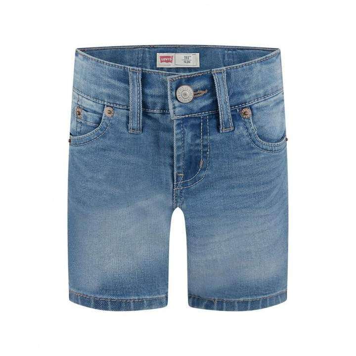 Levis KidswearBoys Blue 511 Slim Fit Denim Shorts