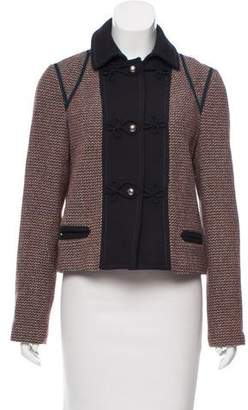 Marc by Marc Jacobs Tweed Snap-Up Jacket