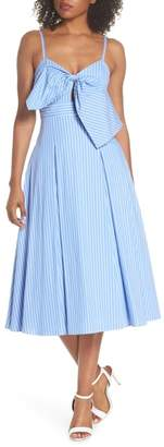 Fame & Partners Becky Bow Front Tea Length Dress