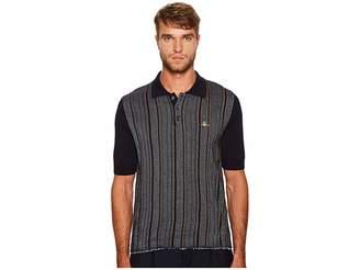 Vivienne Westwood Pilgrim Stripes Polo Men's Clothing