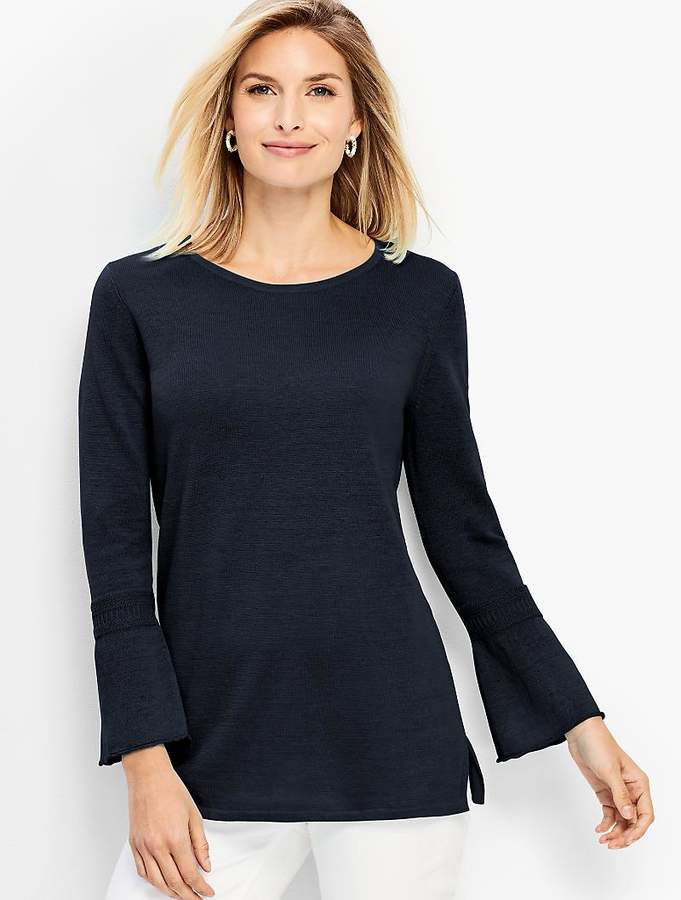 Bracelet Bell-Sleeve Sweater