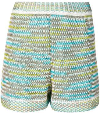 M Missoni knitted shorts