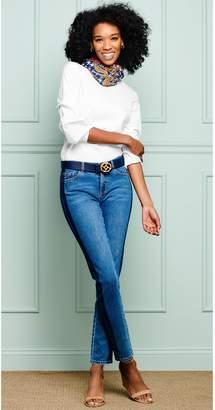 J.Mclaughlin Jaycie Tuxedo Stripe Jeans