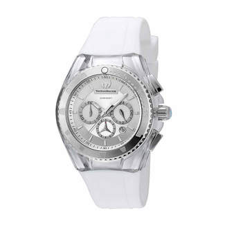 Technomarine TECHNO MARINE Techno Marine Womens White Strap Watch-Tm-115171