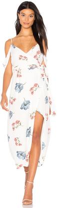 Bardot Floral Wrap Dress $119 thestylecure.com