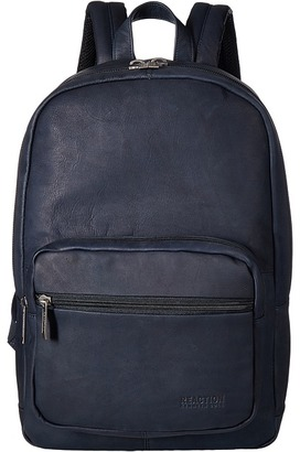 Kenneth Cole Reaction - Colombian Leather Computer Backpack Backpack Bags $400 thestylecure.com