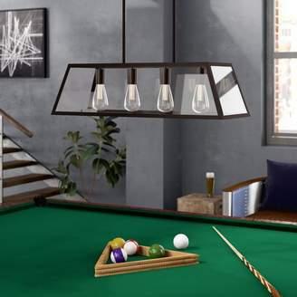 Pool' Williston Forge Allena 4-Light Pool Table Light
