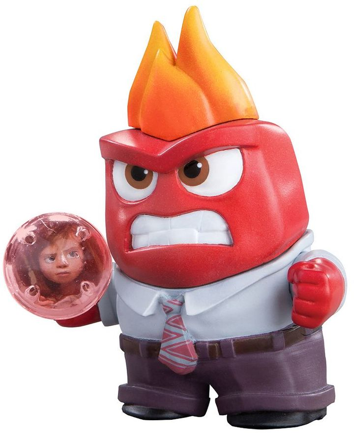 Tomy Disney / Pixar Inside Out Anger Small Figure by Tomy