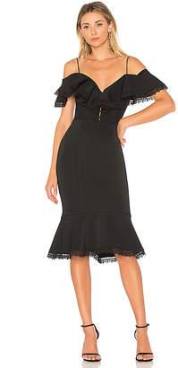 Nicholas Bandage Midi Dress