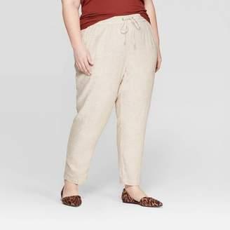 Ava & Viv Women's Plus Size Soft Trouser Pants