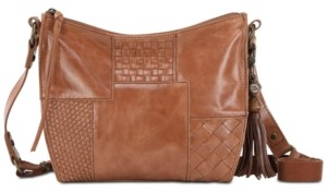 The Sak Silverlake Leather City Leather Crossbody, Created for Macys
