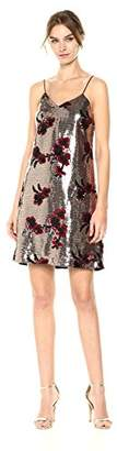 Sam Edelman Women's Flower Sequin Cami Dress