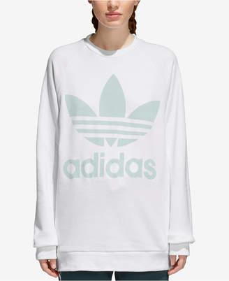 adidas adicolor Over-Sized Trefoil Sweatshirt