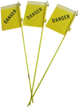 Rejuvenation Set of Three New Old Stock Reflective Danger Signs