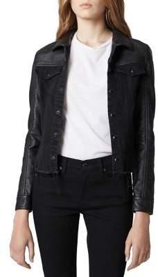 Blank NYC Classic Frayed Hem Jacket