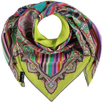 Fraas Kaleidoscope Square Silk Scarf