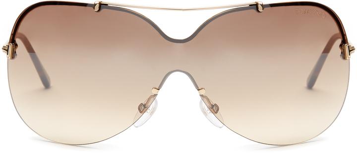 Tom FordTOM FORD EYEWEAR Ondria aviator sunglasses