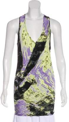 Tracy Reese Printed Sleeveless Top