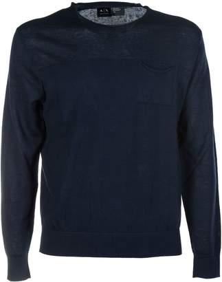 Armani Collezioni Pocket Pullover