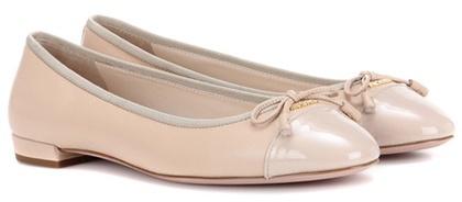 pradaPrada Leather Ballerinas