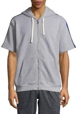 Laboratory LT Man Short-Sleeve Zip-Up Hoodie