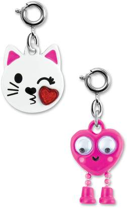 High Intencity CHARM IT!(R) 2-Pack Kitty & Emoji Charms